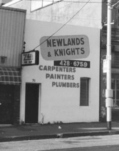 3 - Newlands & Knights Black & White